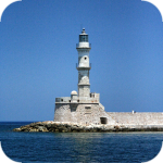 Faros - lighthouse in Chania