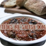 Keftedes in tomato sauce