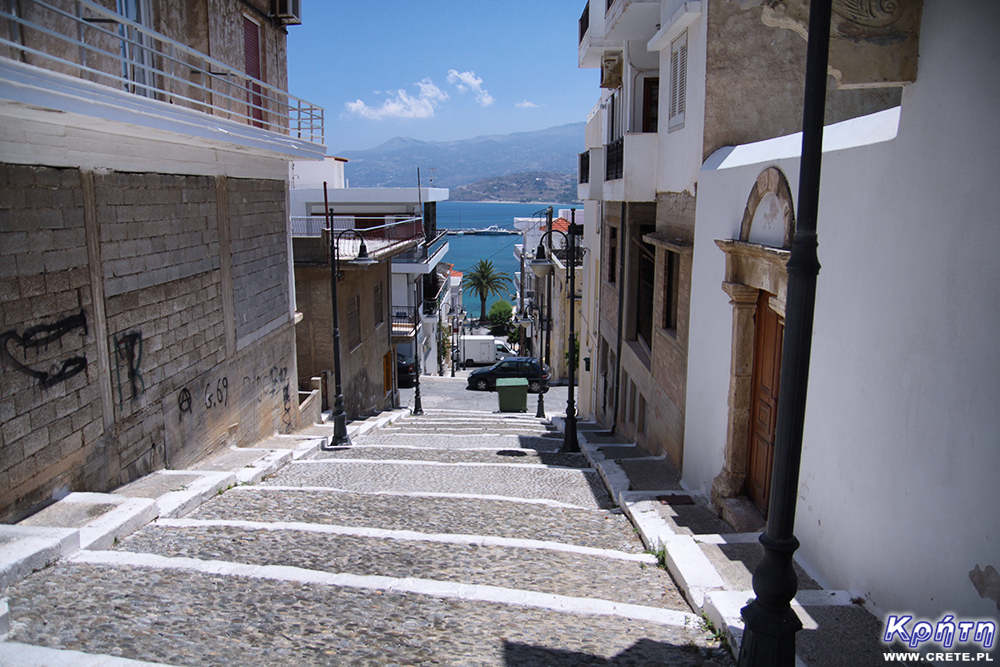 Sitia - stairs