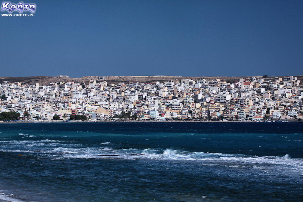 Sitia - view from the beach