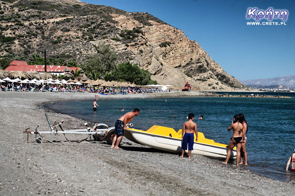 Beaches in Agia Galini