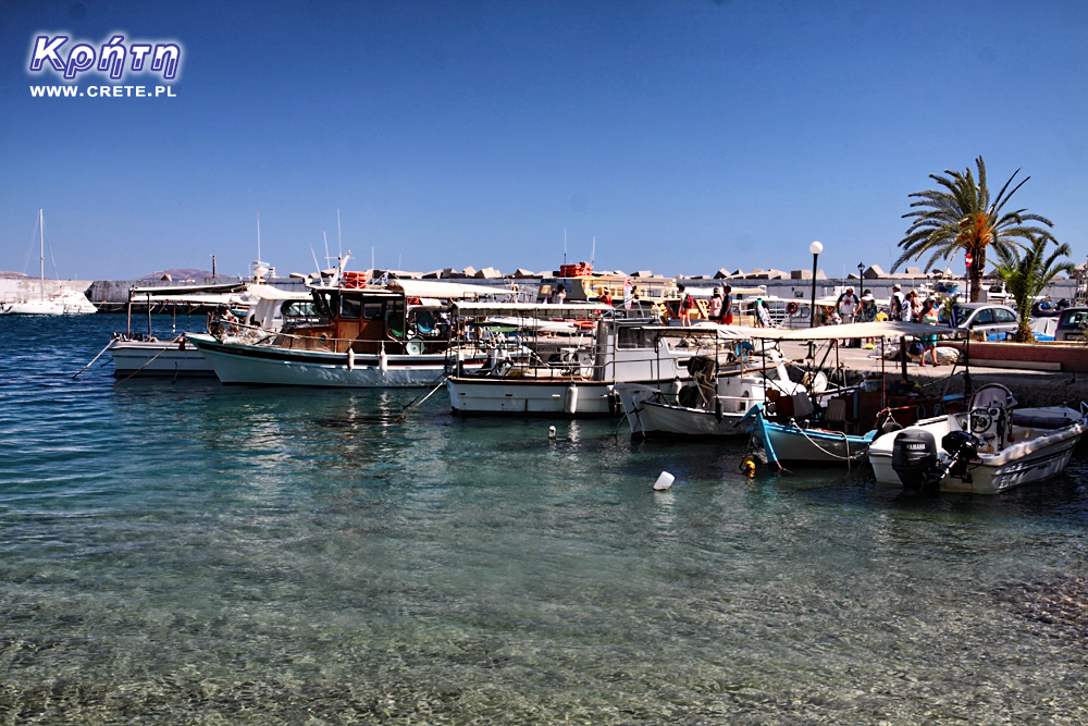 Agia Galini - port