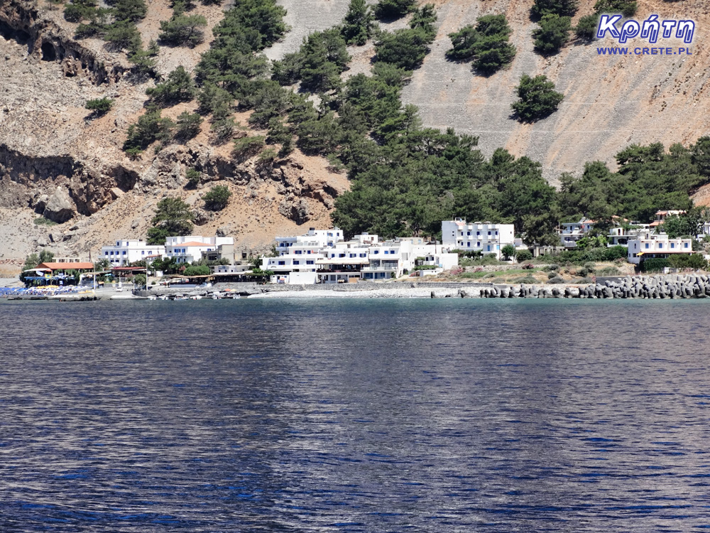 Agia Roumeli - view from the sea