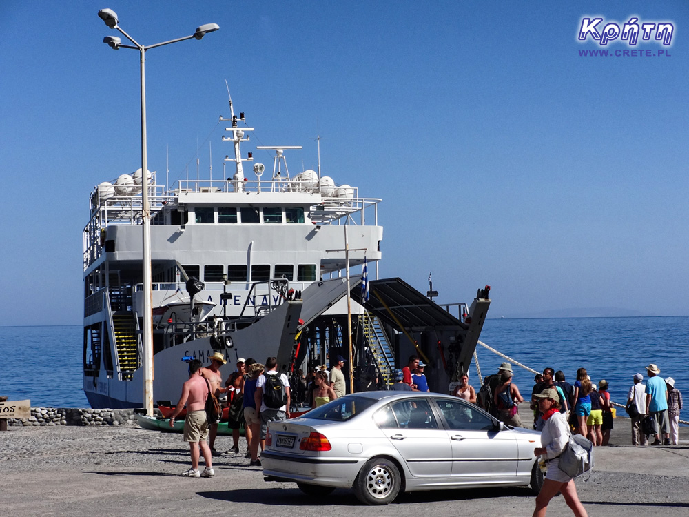 Ferry in Agia Roumeli