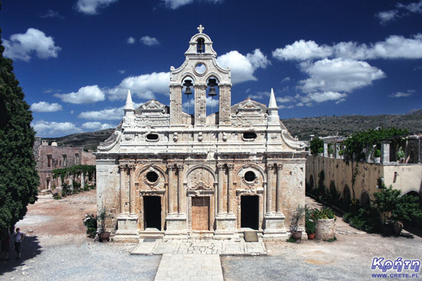 Μονή Αρκαδίου | Moni Arkadiou - a national sanctuary, one of the most important places in Crete | Moni Arkadi - narodowe sanktuarium, jedno z najważniejszych miejsc na Krecie