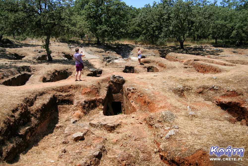 Armeni - view of the excavations