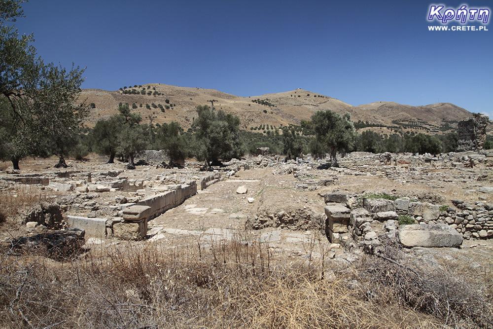 Gortyna - Ausgrabungen
