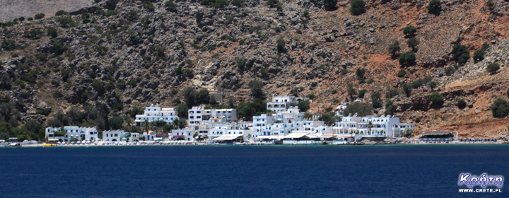 Loutro - view from the sea