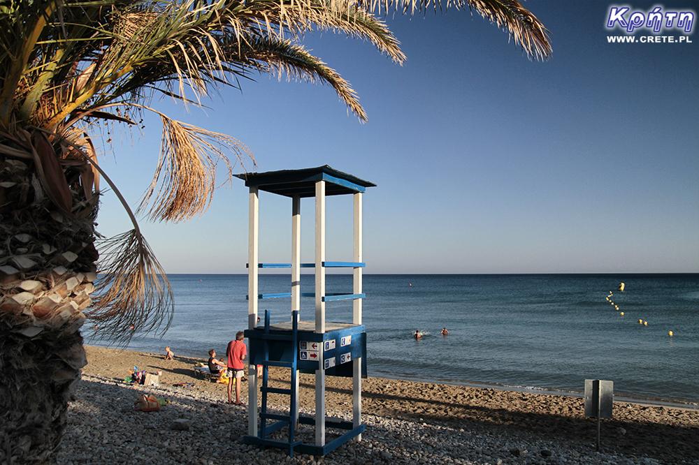 Beach in Makrygialos