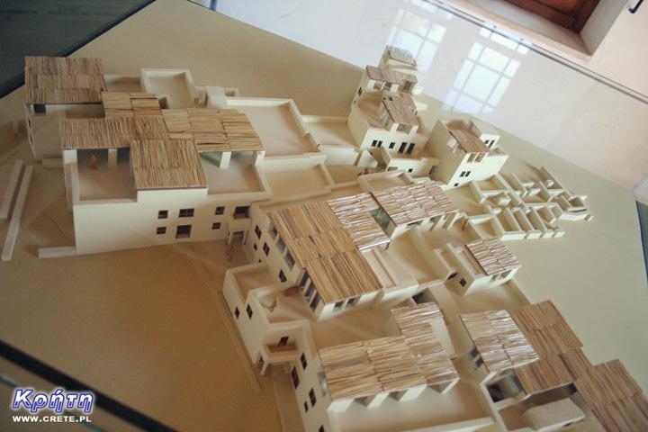 Palast in Malia - ein Modell