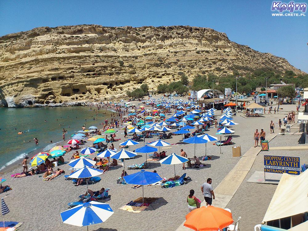 Matala - plaża
