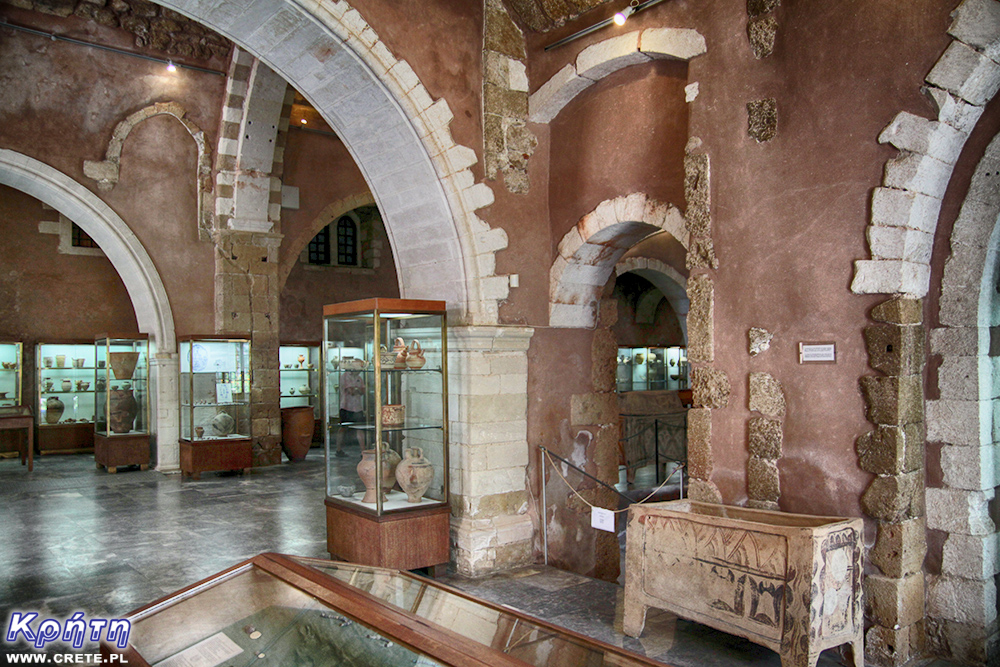 Archaeological Museum of Chania - interior