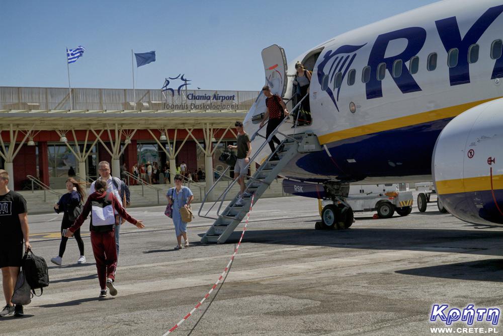 Lotnisko w Chanii - Ryanair