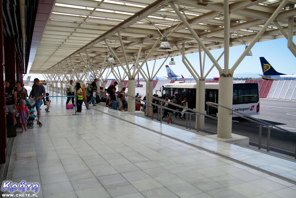 Opóźnienia na lotnisku w Chania