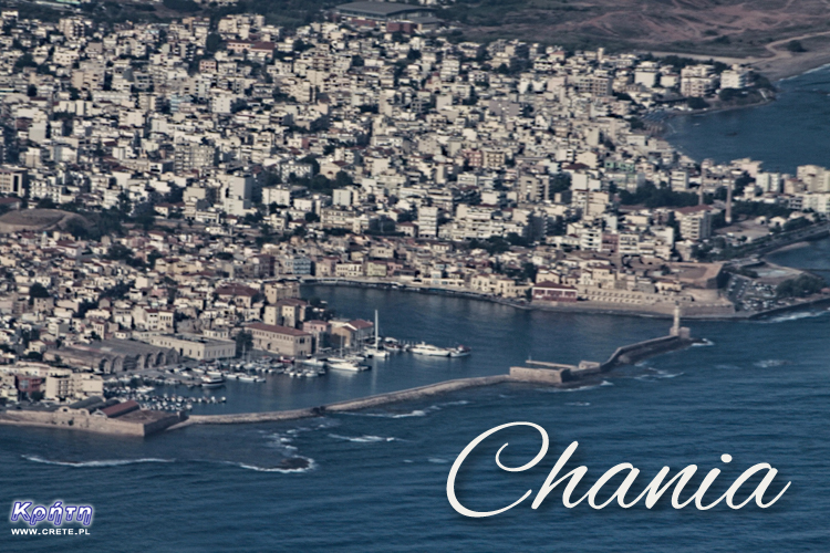 Chania - view from above