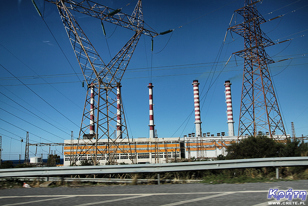 Power station in Ammoudara
