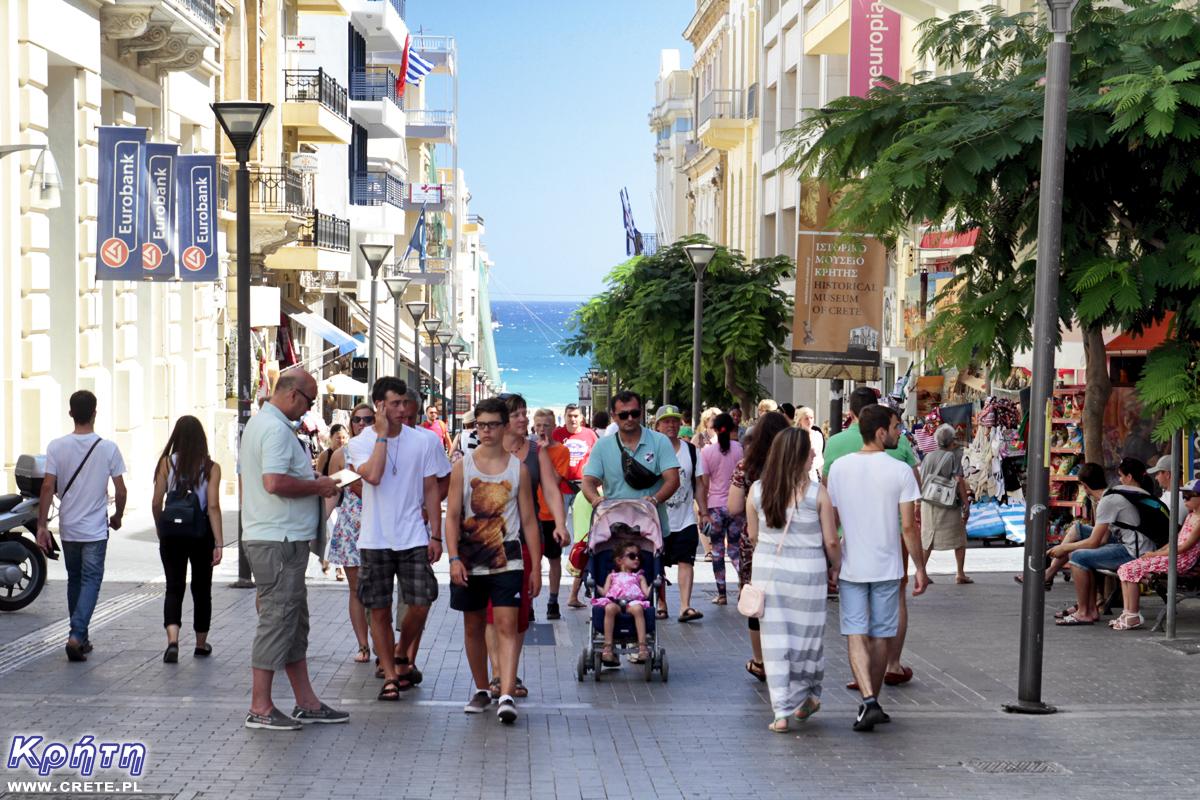Kreta - turyści