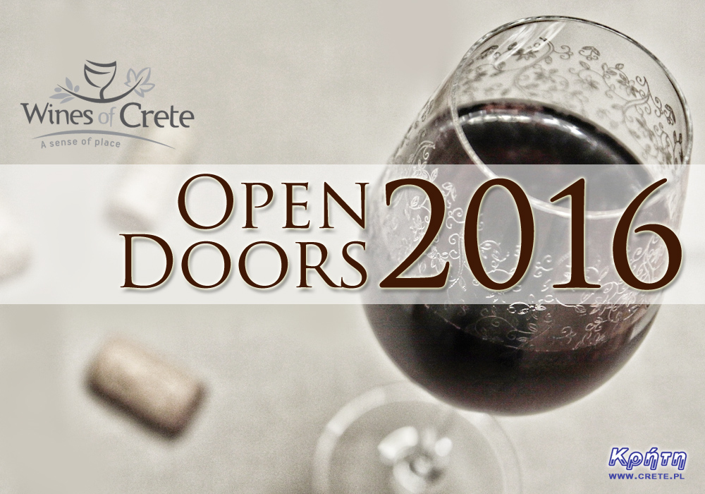 Open doors wine of crete 2016