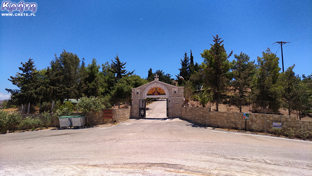 The entrance gate to the area of ​​the monastery complex