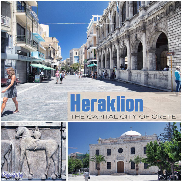 Heraklion - the capital of Crete