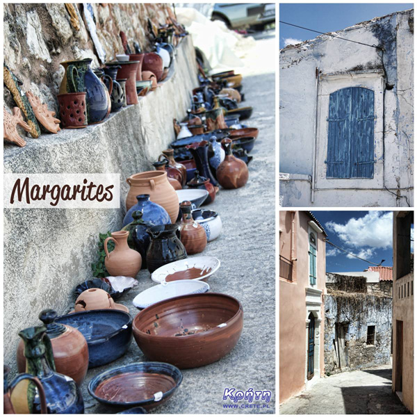 Margarites - potters' village