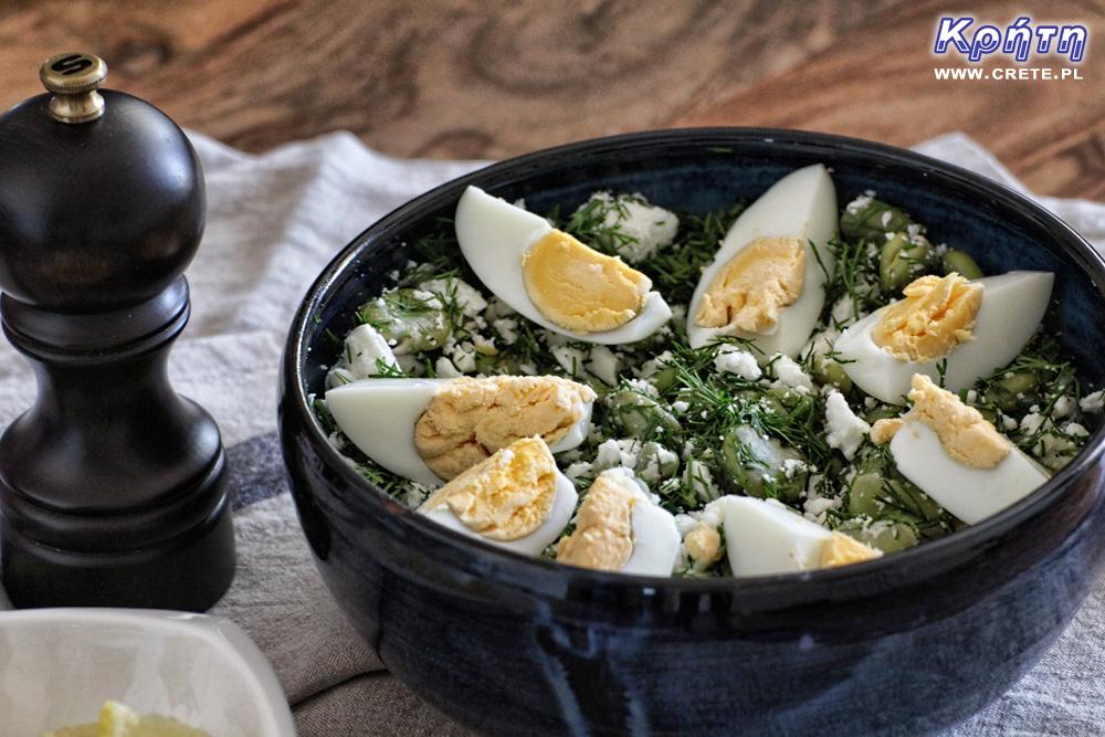 Salatka z bobu