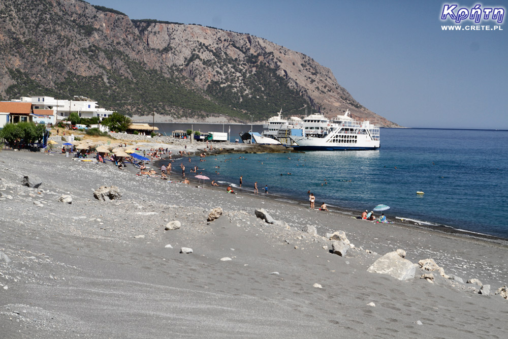 ANENDYK ferries at Agia Roumeli