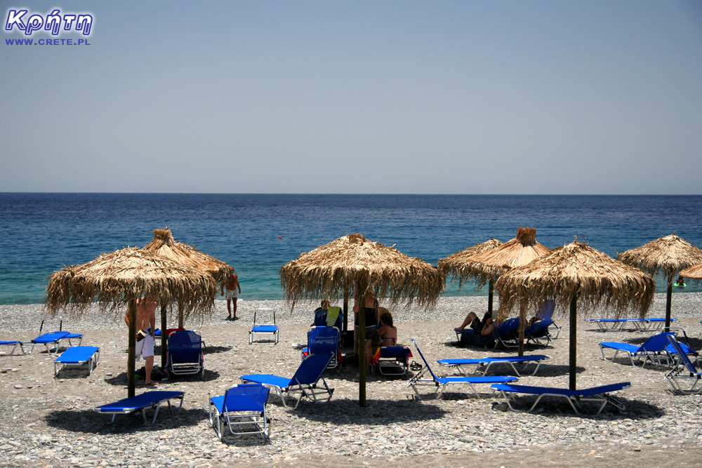 Beach in Sougia