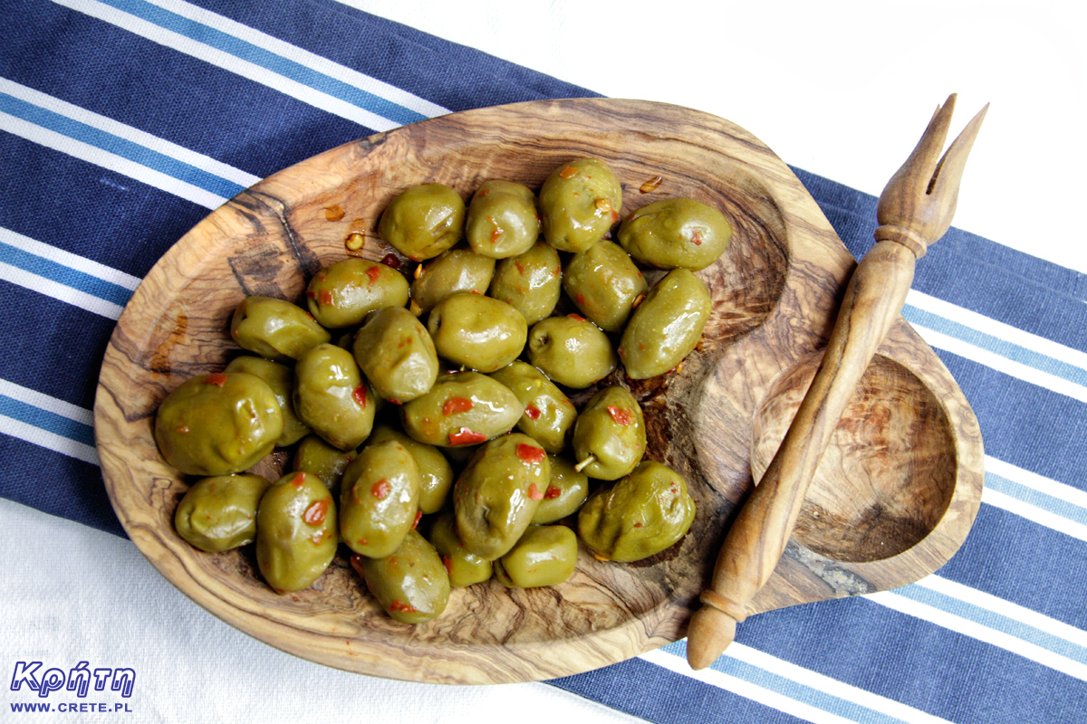 Olives with chilli