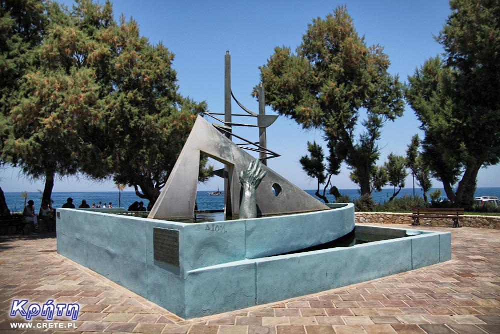 Pomnik Ręki w Chania
