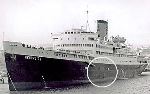 Prom samochodowy - SS Heraklion