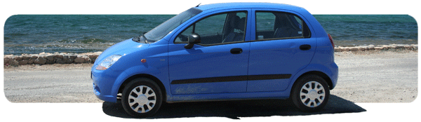 Popular car category A - Chevrolet Matiz