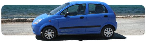 Popularny samochód kategorii A - Chevrolet Matiz